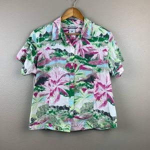 Women's Floral Columbia Shirt Size XL